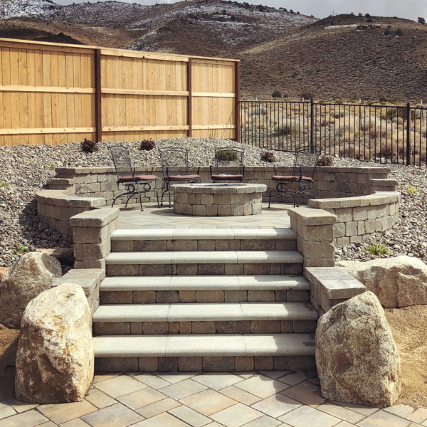 harris-landscape-construction-reno-raised-patio-fire-pit
